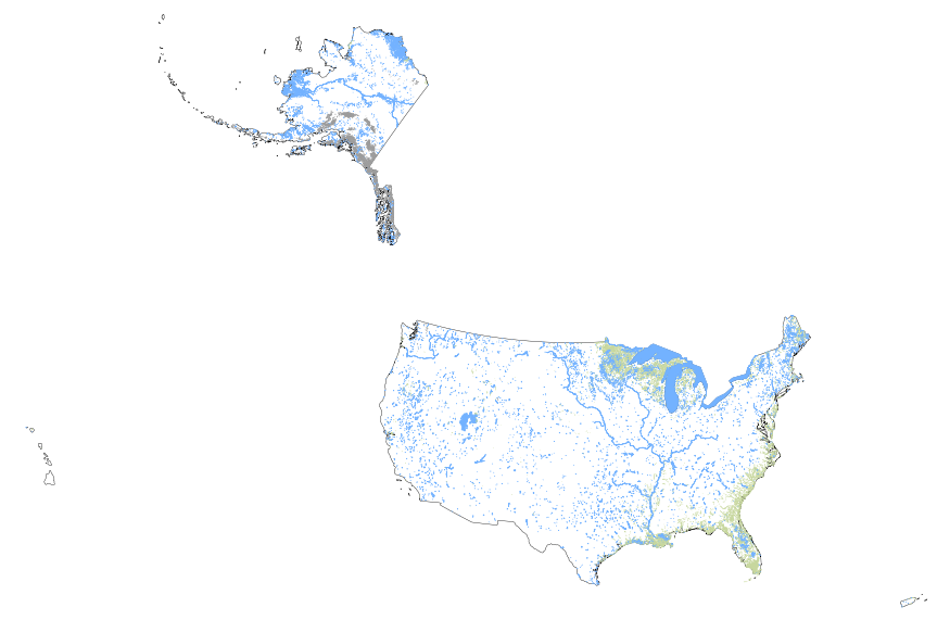 USGS Smallscale Dataset Global Map Scale Inland - Us map shapefile