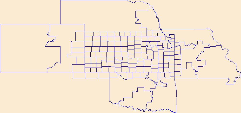 USGS National Boundary Dataset (NBD) in Kansas 20190814