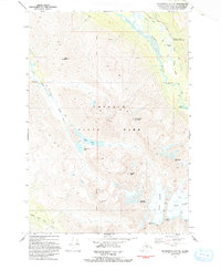 Topo map Anchorage A-7 NE Alaska