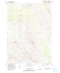 Topo map Anchorage A-7 NW Alaska