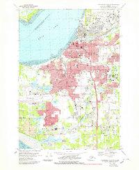Topo map Anchorage A-8 NW Alaska