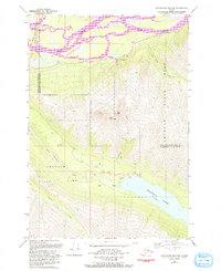 Topo map Anchorage B-6 NW Alaska