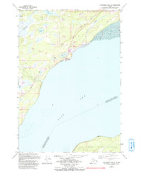 Topo map Anchorage B-8 NE Alaska