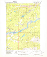 Topo map Anchorage C-6 NE Alaska
