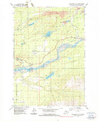 Topo map Anchorage C-6 NE Alaska