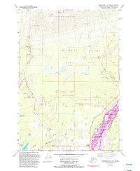 Topo map Anchorage C-6 NW Alaska