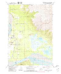 Topo map Anchorage C-6 SE Alaska