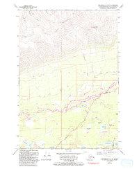 Topo map Anchorage C-7 NE Alaska