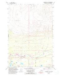 Topo map Anchorage C-7 NW Alaska