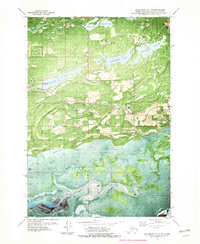 Topo map Anchorage C-7 SE Alaska