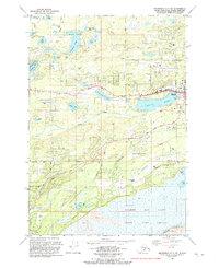 Topo map Anchorage C-7 SW Alaska