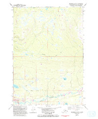Topo map Anchorage C-8 NE Alaska
