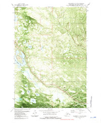 Topo map Anchorage C-8 NW Alaska