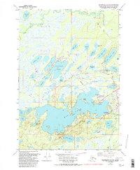 Topo map Anchorage C-8 SW Alaska