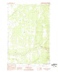 Topo map Anchorage D-8 SW Alaska