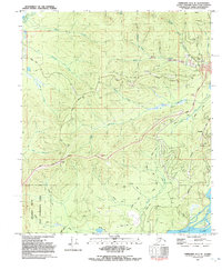 Topo map Fairbanks D-3 SE Alaska