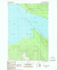 Topo map Juneau A-2 NW Alaska