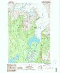 Topo map Juneau B-2 NW Alaska