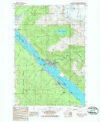 Topo map Juneau B-2 SE Alaska