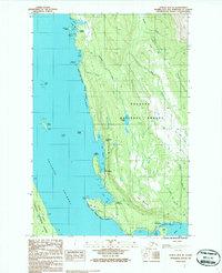 Topo map Juneau B-3 NE Alaska