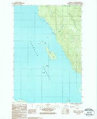 Topo map Juneau C-3 SW Alaska