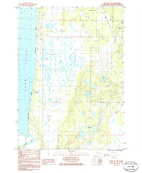 Topo map Kenai B-4 NE Alaska