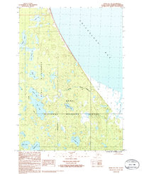 Topo map Kenai D-1 NW Alaska