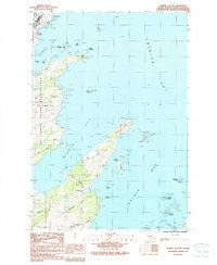 Topo map Kodiak C-2 NE Alaska