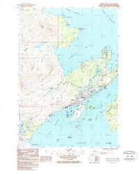 Topo map Kodiak D-2 SE Alaska