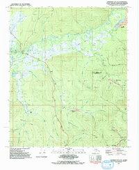 Topo map Livengood A-2 SE Alaska