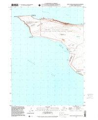 Topo map Saint George Island West Alaska
