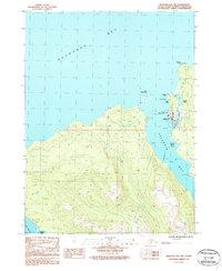 Topo map Seldovia B-5 NW Alaska