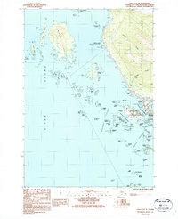Topo map Sitka A-5 SE Alaska