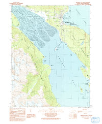 Topo map Skagway A-2 NE Alaska