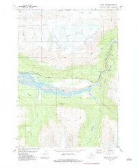 Topo map Valdez A-6 SE Alaska