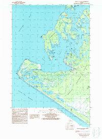 Topo map Yakutat C-5 SW Alaska