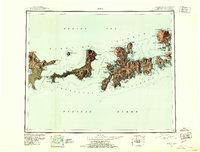 Topo map Adak Alaska
