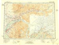 Topo map Anchorage Alaska