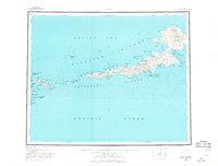 Topo map Atka Alaska