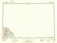 Topo map Atlin Alaska