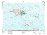 Topo map Attu Alaska