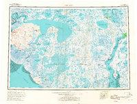 Topo map Baird Inlet Alaska
