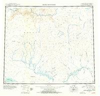 Topo map Baird Mountains Alaska