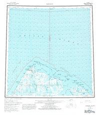 Topo map Barrow Alaska