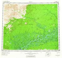 Topo map Beaver Alaska