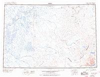 Topo map Bethel Alaska