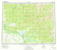Topo map Big Delta Alaska
