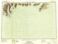 Topo map Blying Sound Alaska