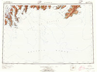 Topo map Blying Sound Alaska