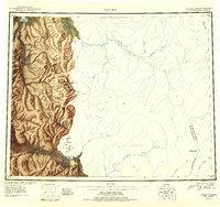 Topo map Candle Alaska